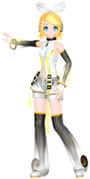 MMD Dreamy Theater Extend: Append Rin by MisakiGalhardo