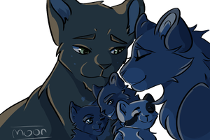 Thank you Starclan for this Family! by Eyeofthemoon17