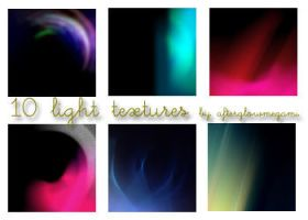 10 Light Textures by goddessoffangirls