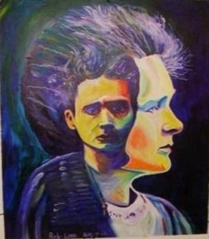 Marie Curie by zomfibame