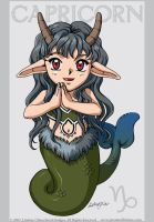 Tiny Cutie Zodiac Capricorn by LCibos