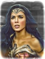 Wonder Woman Diana Prince by Gal Gadot by petnick