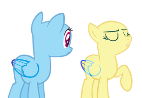 MLP Base- 'I will not stand for this' by alari1234-Bases