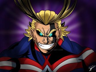 ALLMIGHT -With SPEEDPAINT- by Tazawa