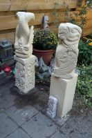 Statues in garden by taisteng