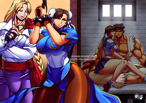 COMMISSION: Chun-Li Insecure Part 1 by jadenkaiba
