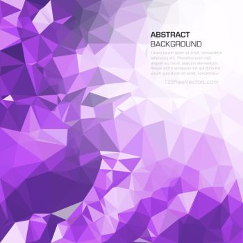 Purple Polygonal Pattern Background Free Vector by 123freevectors