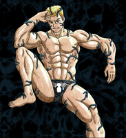 Eddie Brock Sexy - Color Tradicional by 09tuf