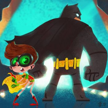 Lego Dynamic Duo by Andry-Shango
