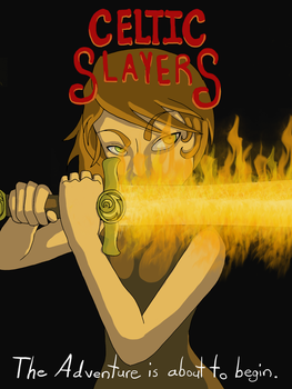 Celtic Slayers Movie Poster by Geegs