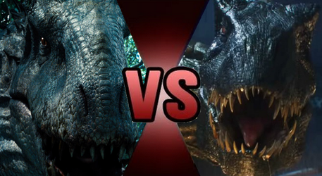 Death Battle Claim: Indominus Rex vs Indoraptor by Kiryu2012