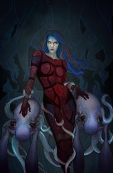 Illyria issue 3 cover by jfrison