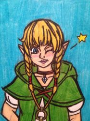 Linkle by angry-toon-link