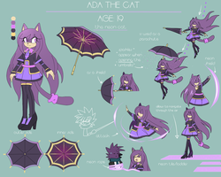 ADA THE CAT-REFERENCE by TheAdaMay