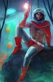 Space Cowboy Mccree by Momo-Deary