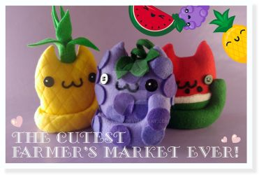 The Cutest Farmer's Market EVER! by Elfedward