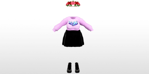 MMD MUCHIMUCHI Outfit 1 by amiamy111