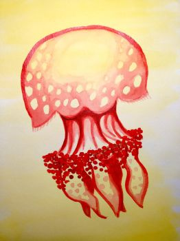 Red Lagoon Jelly by DonyaQuick