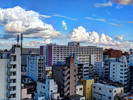 Tokyo Clouds HDR by L-Spiro