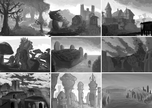 Morrowind Thumbnails by M88Dragonfire