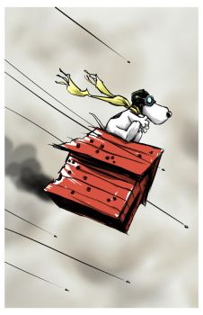 Snoopy - Red Baron by MatthewFletcher720