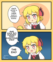 Hungry Rumia by Cyber-Meta