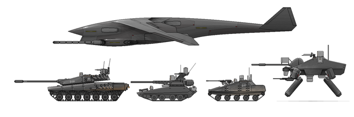 E Pluribus Axioma vehicles by VoughtVindicator