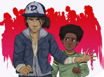 Clem and AJ by TheSushiSensation