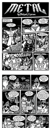 Metal Comic pages 1 - 5 by MichaelJLarson