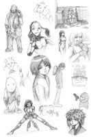 pencil doodle 071105 mix by PlatypusGreen