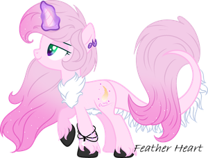 .:OC:. [[Feather Heart]] by MLPCrystalHarmony
