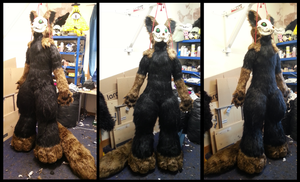 Thyef Fursuit by CuriousCreatures