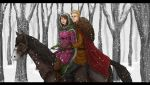 Winter Ride by Captain-Savvy
