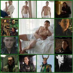 Tom and Loki collage by wolfgirl501