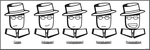 The Many Faces of Spy Guy I by Daking9