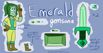 Emerald Reference Sheet by Oceanrush