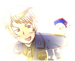 AT: Prussia by Summer-Bunny