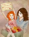 HP - Merry Christmas Daddy by Elwy