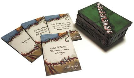 Dismembered Cards by Schlady