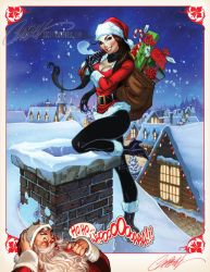 JSC Store Holiday Print 2013 by J-Scott-Campbell