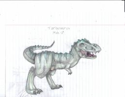 Male Tarbosaurus Shaded by TropicaIDeer