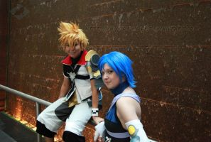 Birth By Sleep: Ventus and Aqua by VandorWolf