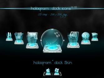 Hologram Dock icons v-1.0 by nishad2m8