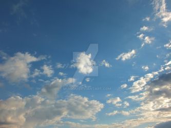 Clouds are the sheep of the sky by Muiqqu