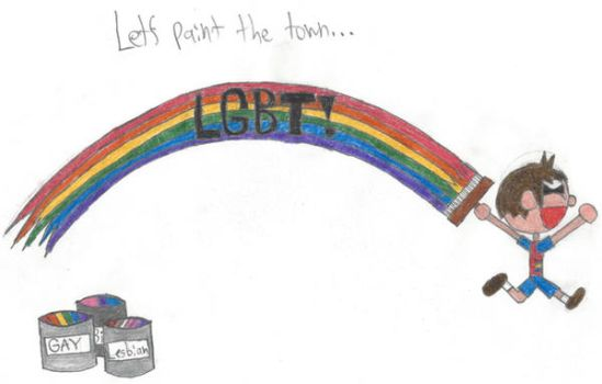 Let's Paint the Town LGBT! by EthanBurnesMKDM