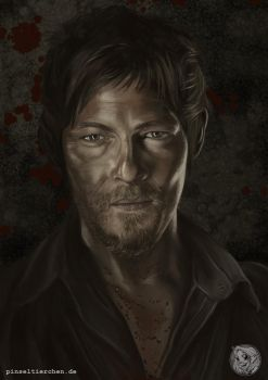 DarylDaryl Dixon - The Walking Dead by Pinseltierchen