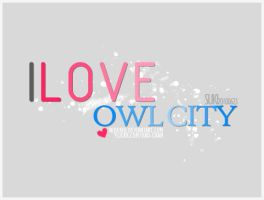 I love OWL CITY. by Nijuuku