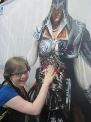 Me and Ezio Poster by AM-Nyeht