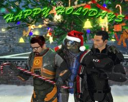 You Humans Have the Best Holidays! by EspionageDB7