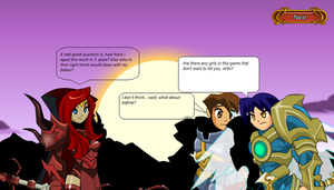 Artix and the Ladies by Hatsodoom